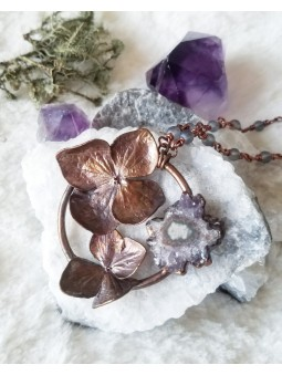 Geode Layering Necklace